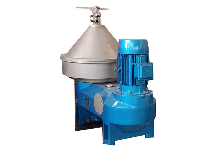 High Speed 3 Phase Centrifuge PDSM-DN Disc Three-Phase Milk Fat Skimming Equipment
